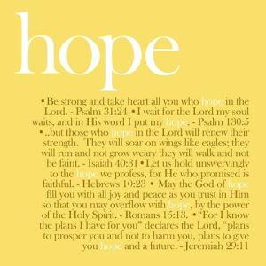 hope verses