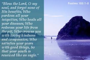 Psalm 103 1-5