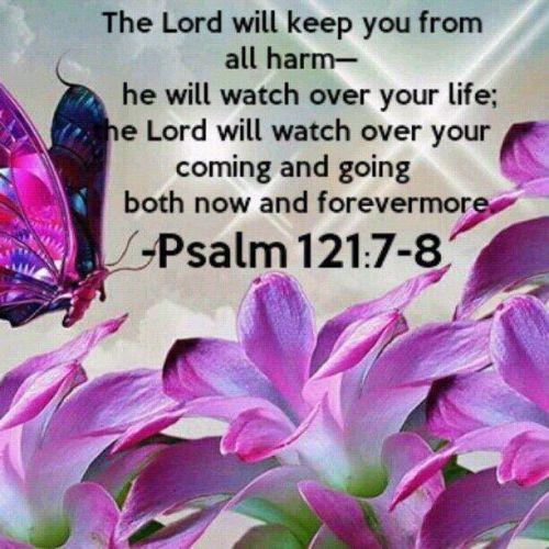 13 MAR 2017 Psalm 121 7-8
